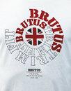BRUTUS TRIMFIT Mod Vintage Union Jack Logo T-shirt