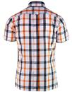 BRUTUS TRIMFIT Men's Mod Window Pane Check Shirt