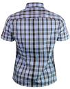 BRUTUS TRIMFIT Women's Mod Tartan Check Shirt