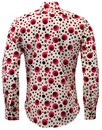 Dot CHENASKI Retro Seventies Op Art Mod Shirt R
