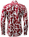 Moloko CHENASKI Retro Sixties Pop Art Mod Shirt RC