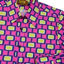 Screens CHENASKI Retro 70's Abstract Print Shirt P
