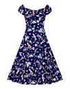 Collectif retro 50s vintage doll dress Dolores