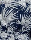 Sabine COLLECTIF Vintage 70s Palm Print Kimono