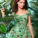 Dolores COLLECTIF Vintage Butterfly Doll Dress