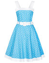 collectif caitlin retro 1950s nautical swing dress