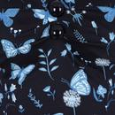 Dolores COLLECTIF Vintage Midnight Butterfly Top