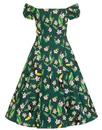 Dolores COLLECTIF Retro Tropical Bird Doll Dress