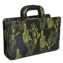 Laila Cactusland COLLECTIF Summer Cactus Box Bag black/green
