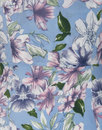 Maisie COLLECTIF 50s Watercolour Floral Maxi Dress