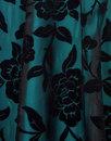 Nina COLLECTIF 1950s Velvet Brocade Swing Dress