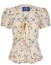Talis COLLECTIF Retro Pinafore Top & Pencil Skirt
