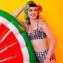 + COLLECTIF x PLAYFUL PROMISES Gingham Bikini Top