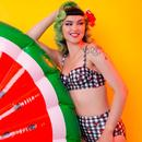 + COLLECTIF x PLAYFUL PROMISES Check Bikini Brief