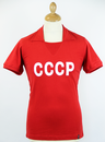 CCCP COPA Retro I960s Vintage USSR Football Top R
