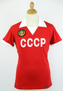 COPA FOOTBALL RETRO REPLICA CCCP FOOTBALL SHIRT