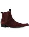delicious junction beatle mod bordo chelsea boots