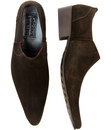 Strummer DELICIOUS JUNCTION Mod Suede Cuban Shoes