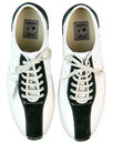 Watts DELICIOUS JUNCTION 60s Mod Bowling Shoes W/G