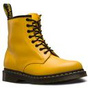 dr martens womens 1460 colour pop boots yellow