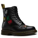 Dr martens rock n roll patch 1460 boots black