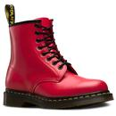 Dr Martens 1460 colour pop revival boots red