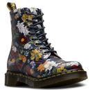 Pascal Darcy Floral Backhand DR MARTENS Boots