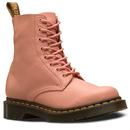 Dr Martens womens 1460 pascal salmon Virginia boots