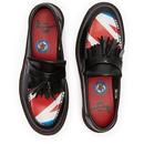 DR MARTENS X THE WHO Women's Union Jack Loafers