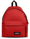 eastpak padded pakr retro 1970s backpack apple red