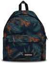 eastpak padded pakr leaf back pack orange brize