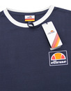 Ortler ELLESSE Retro Long Sleeve Ringer Tee (DB)