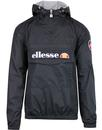 ellesse Montgomery over head anorak jacket black