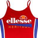 Tyrola ELLESSE WOMENS 90's Bodysuit Leotard