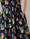 Claudia EMILY AND FIN Retro Blooming Cactus Dress