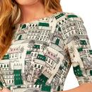 Hattie EMILY & FIN Paris Streets Printed Dress