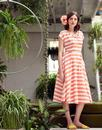 Jodie EMILY & FIN Retro Peachy Keen Summer Dress