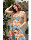 Pippa EMILY & FIN Retro Old Havana Summer Dress