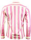 Eton MADCAP ENGLAND 1960s Mod Candy Stripe Shirt