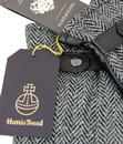 FAILSWORTH Harris Tweed & Leather Retro 70s Gloves