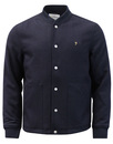 farah leinster bomber jacket true navy mod