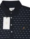 Oakdale FARAH Retro 60s Mod Jacquard Polo Shirt