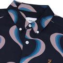 Searling FARAH Retro 70's Print Button Down Shirt