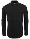 Wetshire FARAH 60s Mod Button Down Pique Shirt (B)