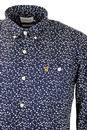 Tobiah FARAH VINTAGE Retro Jagged Polka Dot Shirt