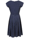 Mary FEVER Retro 50s Vintage Polka Dot Prom Dress