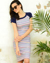 Fever Dresses Retro Tobago Pencil Summer Dress