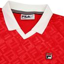 Paxton FILA VINTAGE Retro 90's V-neck Football Top