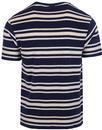 Alexandro FILA VINTAGE Retro 80s Towelling T-shirt