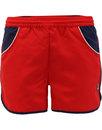 fila vintage tomas retro 1970s running shorts red